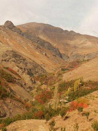 دورنمایی از قله پهنه سار